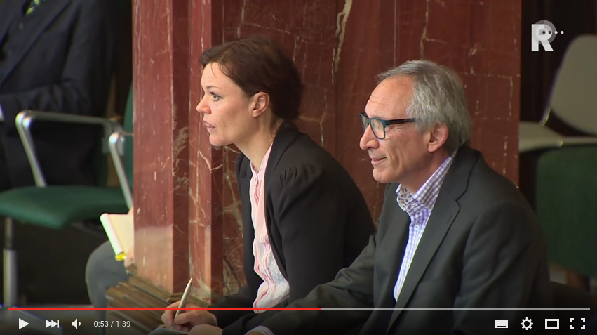 Burgit van Huuksloot en John la Gordt Dillié spreken in bij gemeenteraadscommissie BWB Rotterdam op 23 maart over Woonvisie